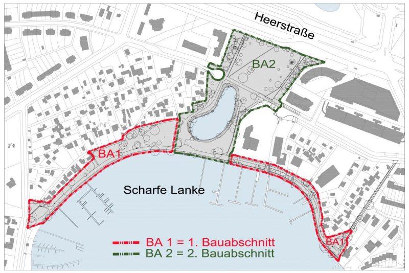 Voraussichtlicher Bauablauf, Quelle: Glaßer & Dagenbach Landschaftsarchitekten