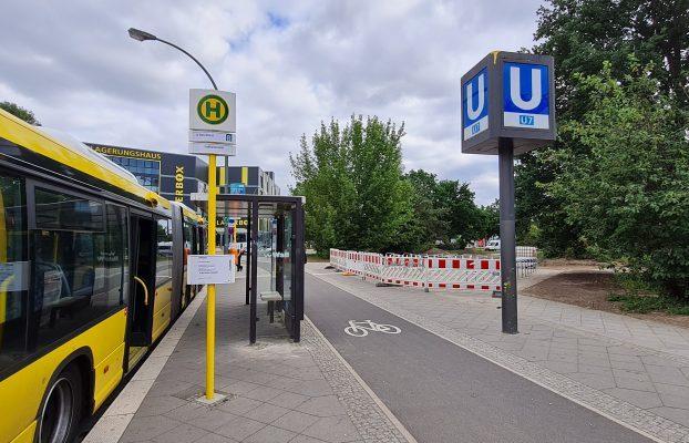 Spandau fördert den Umweltverbund: Neue Fahrradabstellanlage am U-Bahnhof Haselhorst