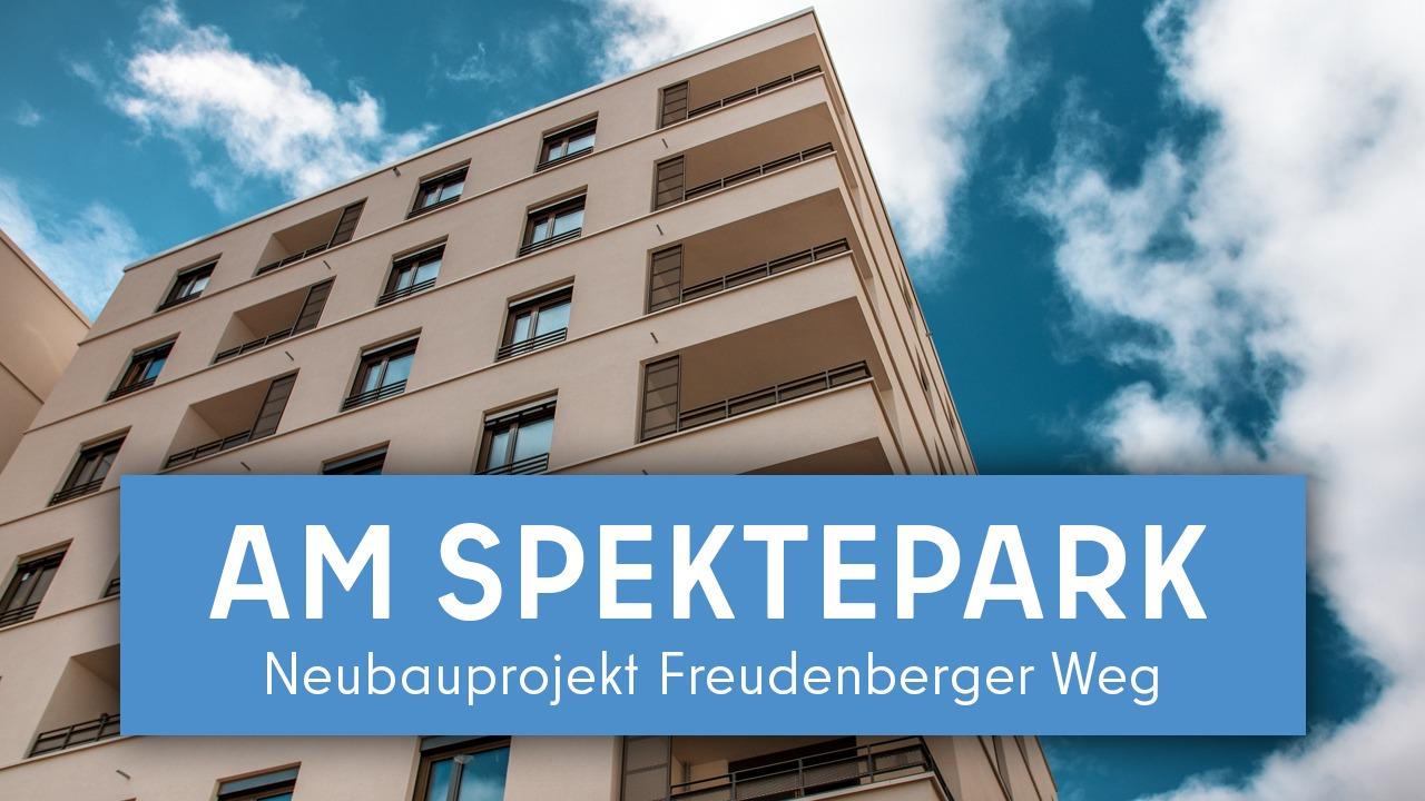 """""""Am Spektepark"""" – Neubauprojekt Freudenberger Weg"""