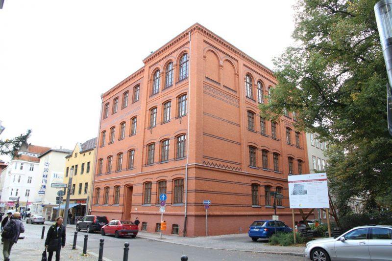 Neue Fassade Musikschule