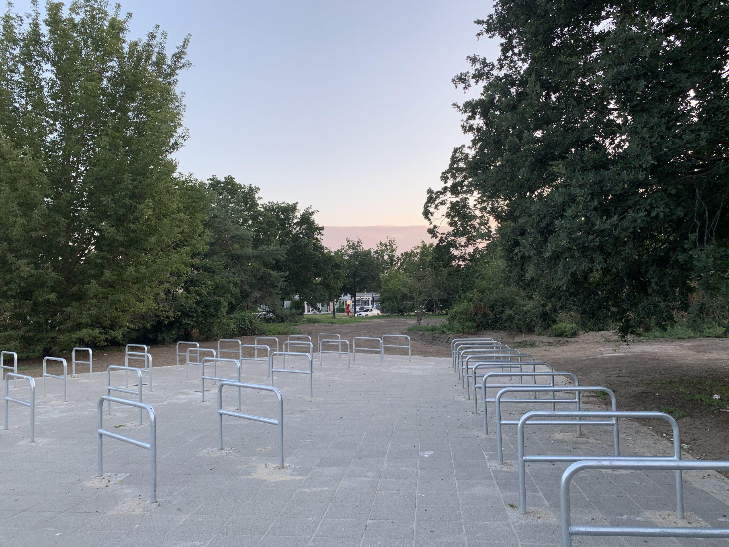 Fahrradparkhaus Ferdinand-Friedensburg-Platz