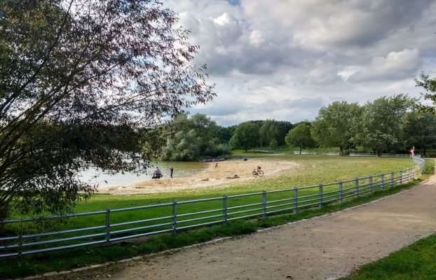 Eröffnung Imbiss Badestelle am Kiesteich