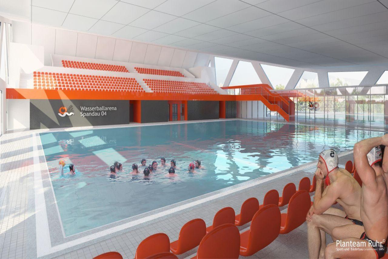 Wasserball-Arena