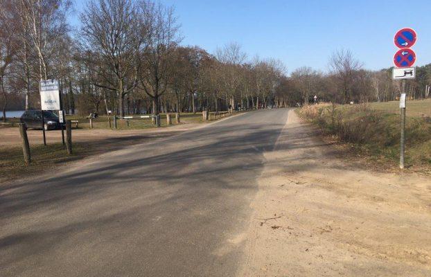 Temporäre Sperrung der Uferpromenade Kladow