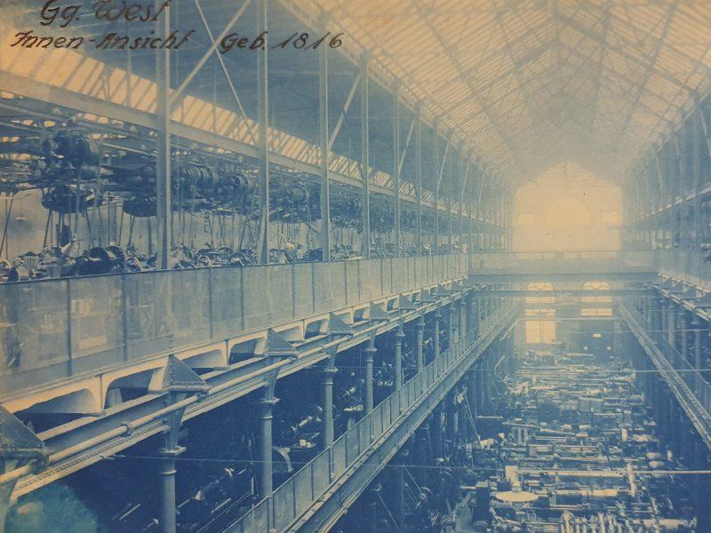 Historisches Foto der Geschützgießerei von 1816