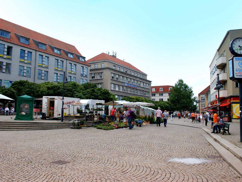 Markt in der Altstadt Spandau