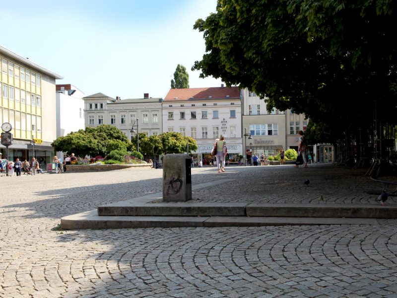 Platz auf dem Markt in der Altstadt Spandau