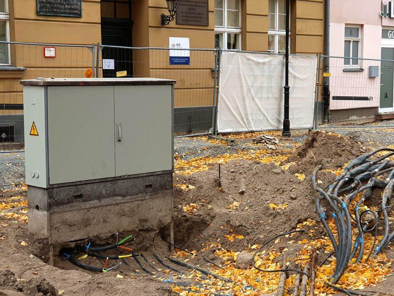 Kabel/Baustelle Reformationsplatz