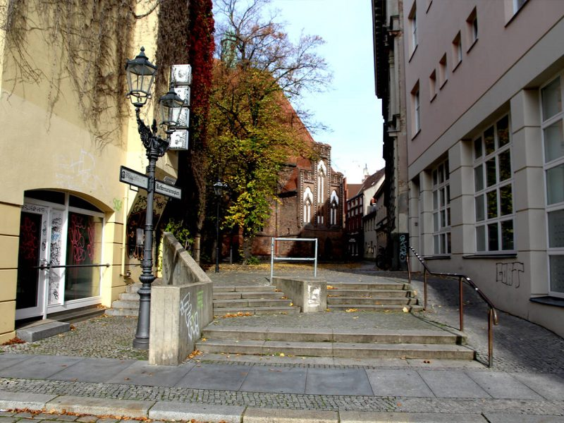 Zugang Reformationsplatz