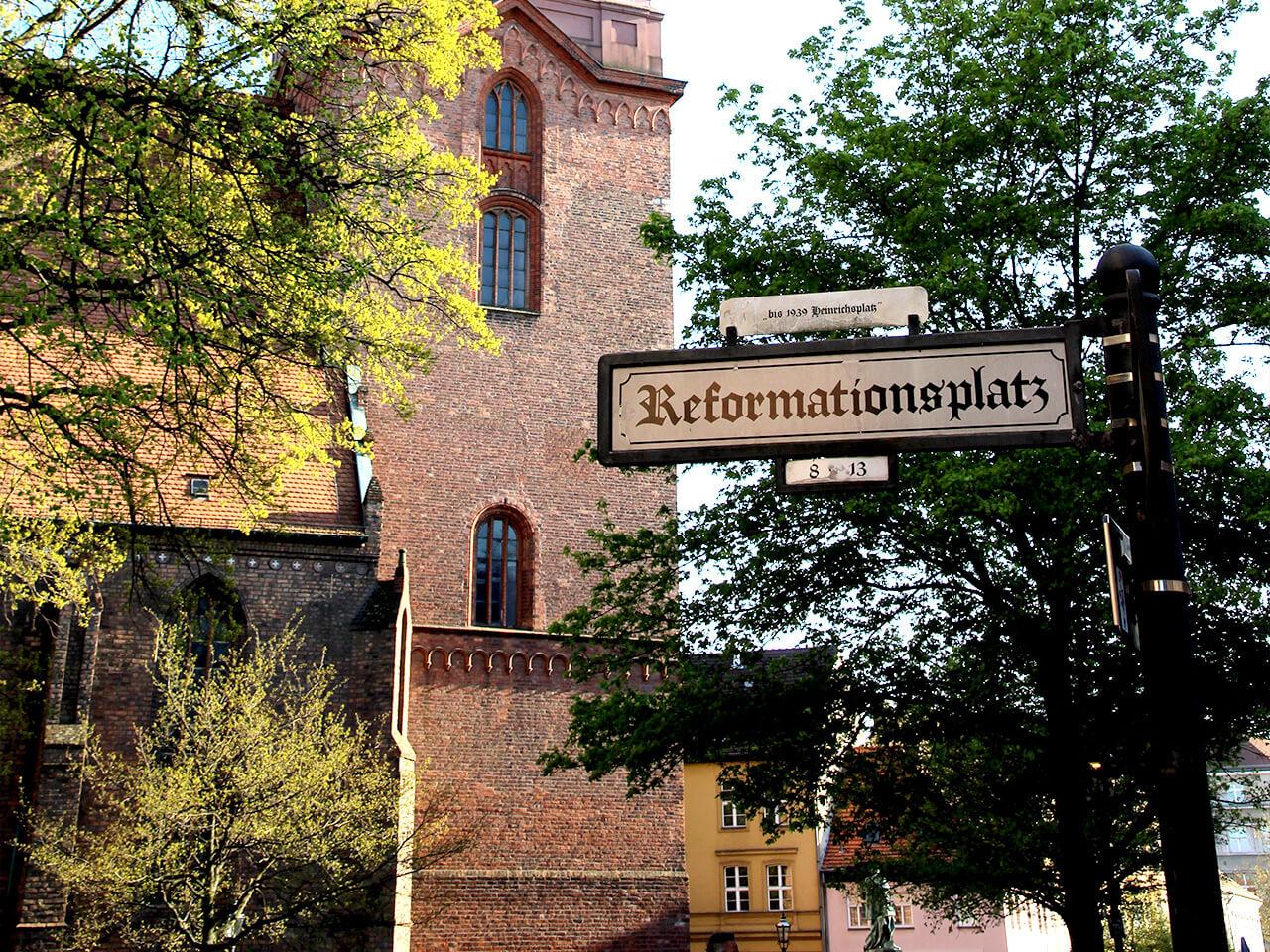 Kirche am Reformationsplatz