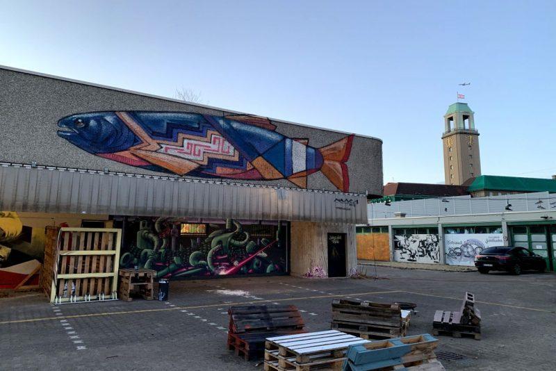 Zwischennutzung durch Street-Art-Künstler